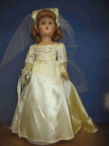 20 Quot Effanbee Bride Vintage 1930 1940 S Nice Twice