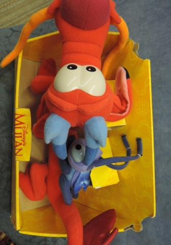 Mattel Mushu And Cri Kee Giftset Playline Dolls Clothing