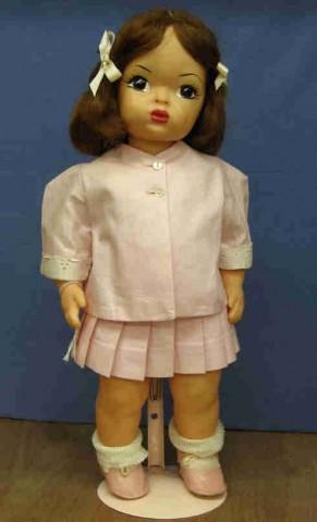 Tl0009 Terri Lee Hard Plastic Vintage 1950 S 1960 S